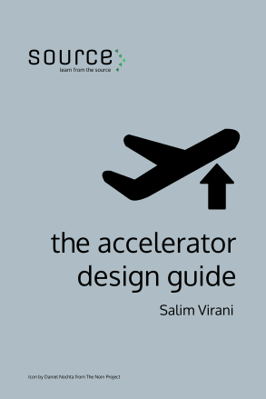 Accelerator Design Guide cover showing a computer at a desk